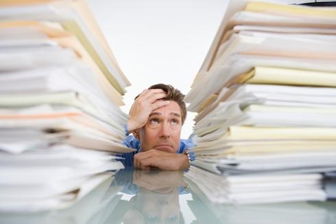 Piles of Paperwork - Lots of work