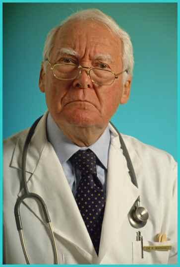 Stern Looking Doctor